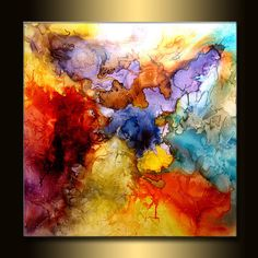 Huge Abstract Painting Original Abstract by newwaveartgallery, $4000.00