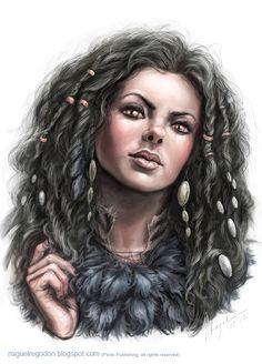 Maiden Jadrenka by MiguelRegodon.deviantart.com on @deviantART