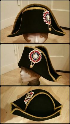 Napoleon s Bicorne Hat. Worn during the Russian Campaign. Circa 1812 ... bb5286a1104