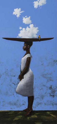 Cielo . Oleo sobre madera Colombian Art, Disney Characters, Fictional Characters, Vibrant, Africa, Fantasy, Disney Princess, Gallery, Artwork