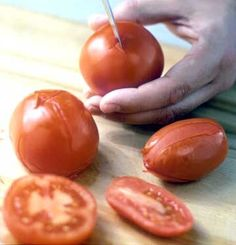 Peeling and Seeding Tomatoes, #Easy, #Pasta, #Salsa, #Sauce, #Tomatoes