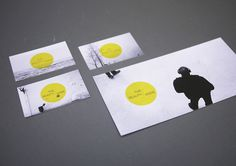 THE BEAUTY ASIDE by ARE WE DESIGNER , via Behance (love using negative space for the biz cards)