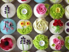 Pretty cup cakes