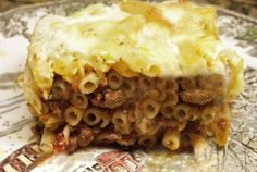 Moveable Feasts: Lamb Pastitsio