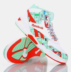 sports shoes b7c46 bdfbf Reebok monopoly sneakers Monopoly, Hot Shoes, Reebok