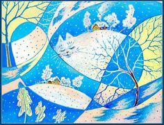 Winter Dreams of Nonlinear Cat - Svetlana Krotova