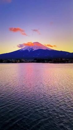 Beautiful Places In Japan, Beautiful Sunset, Japanese Nature, Japanese Art, Sunset Photography, Travel Photography, Mount Fuji Japan, Fuji Mountain, Satisfying Pictures