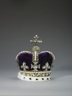 Mary of Modena's Crown of State was supplied for Mary of Modena, consort of James II, for the coronation on 23 April 1685, by Sir Robert Viner, the Crown Jeweller.| Royal Collection Trust