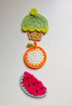 Set de 3 imanes crochet   MercadoLimbo.com