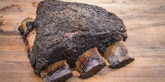 Aaron Franklin's Beef Ribs – Andrew Zimmern Beef Rib Rub, Bbq Beef Ribs, Beef Ribs Recipe, Beef Steak, Grilled Beef Short Ribs, Bbq Short Ribs, Grilled Meat, Rib Recipes, Spicy Recipes