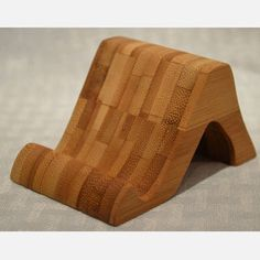 Bamboo Mini Tablet Stand now featured on Fab.