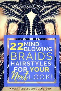 20 Mind Blowing Braid Hairstyles for your next look Perfect braids hairstyles for black hair! From braids to cornrows, this protective styles will spice your African american hair! click now for info. African American Braided Hairstyles, African American Braids, Braided Hairstyles For Black Women, African Hairstyles, African Braids, Cornrows Braids For Black Women, Braids For Black Hair, Easy Formal Hairstyles, Twist Hairstyles