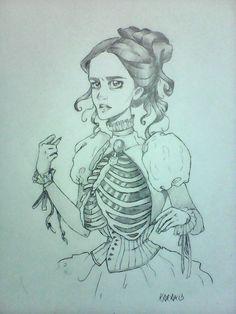 #pennydreadful #vanessaives #bones #victorian