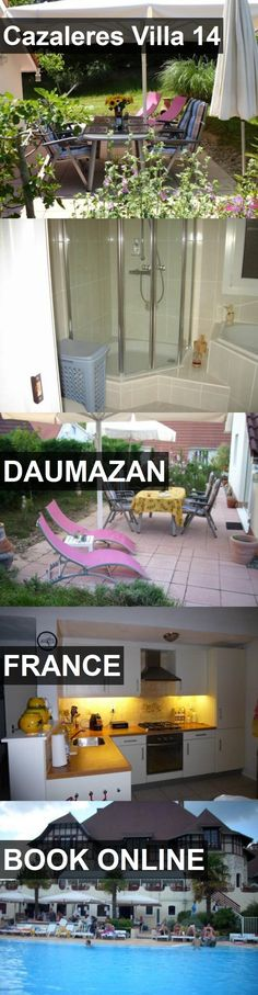 Hotel Cazaleres Villa 14 in Daumazan, France. For more information, photos, reviews and best prices please follow the link. #France #Daumazan #travel #vacation #hotel