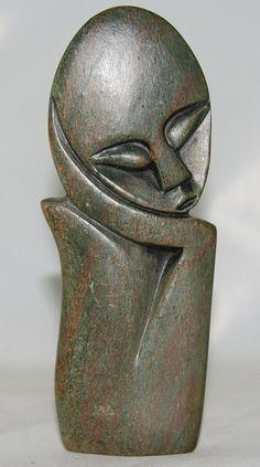 African Shona Abstract Sculpture - culturesinternational - 1