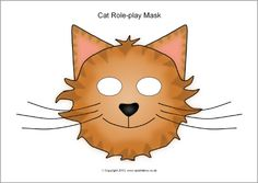 Cat role-play masks (SB9943) - SparkleBox