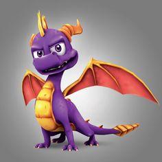 Nobody can rock purple like Spyro!