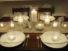 decoração de mesa reveillon - Pesquisa Google