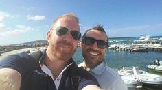 """#selfie È salpata una barca battente bandiera...#Chaffoteaux. Come non invidiare gli amici di Ceramica Erre e Fai Impianti e Costruzioni che ieri hanno potuto ammirare lo splendido Parco Nazionale dell'Asinara - AMP """"Isola dell'Asinara""""sotto la guida di Marco Murru dell'agenzia Pier Giorgio Murru? Complimenti ragazzi!"""
