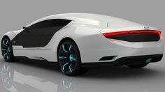 """Audi A9, arabanın tümünü tarayıp yepyeni bir görüntü veren """"elektronik boyama"""" sistemi barındırıyor."""