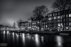 Dans le port d'Amsterdam by Corentin Foucaut