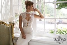 Julie Vino- Provence Collection 805-Grace wedding gown