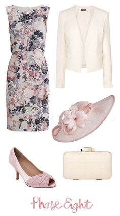 New In Occasion Outfits 2015 Wedding Guest Inspiration Race Day Outfits 2015 Race Day Outfits, Mode Outfits, Outfits 2016, Classy Outfits, Beautiful Outfits, Wedding Day Dresses, Wedding Outfits, Mother Of Bride Outfits, Groom Outfit