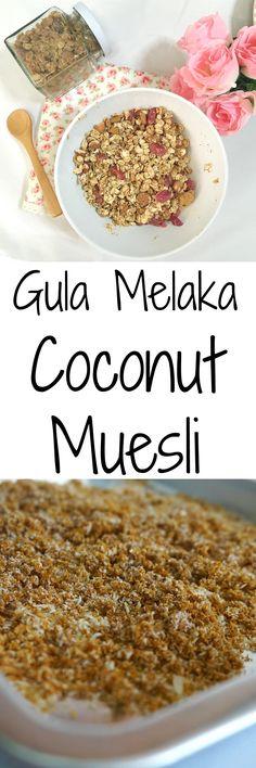 Gula Melaka Brown Sugar Coconut Muesli - Perfect for your morning breakfast