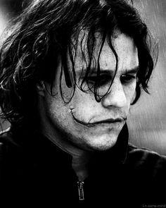 Heath Ledger an amazing Joker