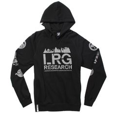 LRG Kata Reflective Pullover Hoodie - Black