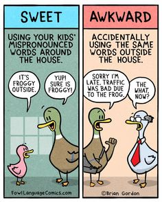 FunSubstance - Funny pics, memes and trending stories Funny Duck, Haha Funny, Funny Stuff, Hilarious, Funny Kids, Funny Photos, Funny Images, Fowl Language Comics, Quotes About Motherhood