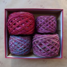 DIY box / gift box of mixed natural wool yarn for a Icelandic sweater / 670 g by TASSSHA on Etsy