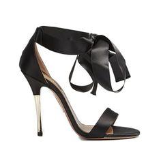 Aquazurra Tie Me Up Sandal - Shop Luxury Shoes | Editorialist