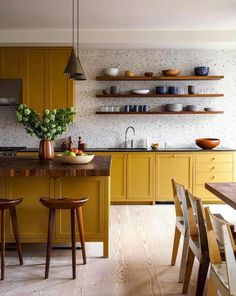 Cuisiner en colorama – Billie Blanket Home Decor Kitchen, Kitchen Interior, New Kitchen, Home Kitchens, Kitchen Dining, Kitchen Decorations, Modern Kitchens, Rustic Kitchen, Kitchen Ideas
