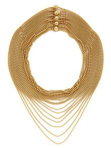 Estate Fine Jewelry  Cartier Gold Multi-Strand Bib Necklace