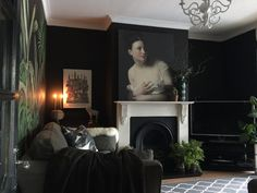 With historic details as the backdrop of their art-filled home,Nadiaand Mark Singleton live in a 1,500-square-foot dwelling in Leicestershire, England. Built in 1919, their space is full of charming fireplaces, unique details, and dark, moody walls.Nadia runs a3D printing businessthat produces prototypes for product designers, jewelry designers, artists, and sculptors. Before that, Nadia worked as a scenic artist and prop maker, painting backdrops for theaters around the country. Her…