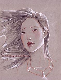 Pocahontas by Brianna Cherry Garcia