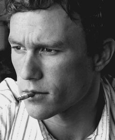 OH Heath Ledger.. sigh. i will let the cig fly...this time