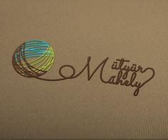 A Mütyür Műhelynek, egy kreatív kézműves vállalkozásnak tervezett logó