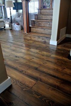 images of douglas fir flooring | Circular sawn douglas fir flooring | Sustainable Lumber Company