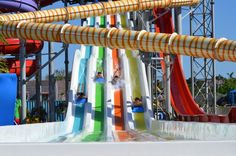 Bugis Adventure with mat racer waterslides from Waterparks Makassar, Water Slides, Roller Coaster, Surfing, Museum, Adventure, Outdoor Decor, Water Parks, Pools