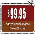 Get Discount Coupon worth $99 only on Raleigh Durham Garage Door Experts. Offer Valid till Jan 31st 2017 only. #garagedoorrepair (New Nylon Roller) at $99.95 in Raleigh Durham. Call us now on (844) 334-6692 or click on link below. Apply #CouponCode: RDU 0951 to avail this offer. http://www.raleighdurhamgaragedoorexperts.com/