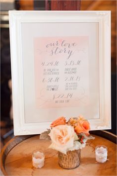 loves tory sign @weddingchicks