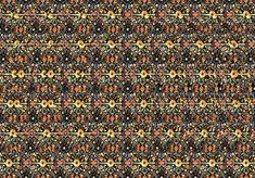 Magic Eye Stereogram - A Spring - took about longer to get this. 3d Hidden Pictures, Hidden 3d Images, Magic Eye Pictures, Hidden Art, 3d Pictures, Optical Illusions Pictures, Magic Illusions, 3d Stereograms, Eye Movie