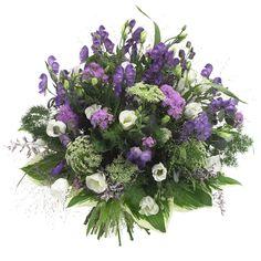 Zomers boeket bloemen