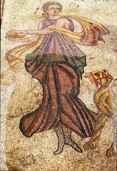 Bacchante, Zeugma--I was a bacchante in the ballet world :)
