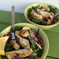 Autumn, Kale, Apple and Chicken Salad | Cook Eat and Smile