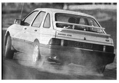 Ford Sierra - 8 cylinder Sierra from South Africa. Ford Sierra, Ford Rs, Car Ford, Mid Size Car, Car Images, Love Car, Car And Driver, Mk1, Fast Cars