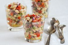 White Bean-Roasted Red Pepper Salad.