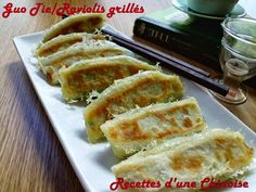Recettes d'une Chinoise: Guō tiē : raviolis grillés à la poêle 锅贴